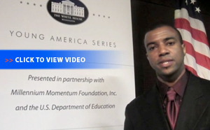 Millennium Momentum Foundation�s Partners With White House Video