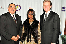 Enterprise Rent-A-Car VP Brett Bittel, Fred Abdelnour, Cicely Tyson