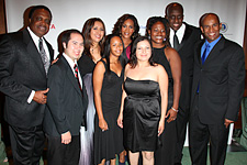 Vivica Fox with Scholars